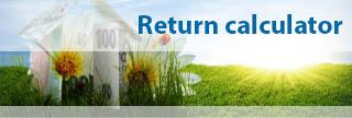 Return calculator