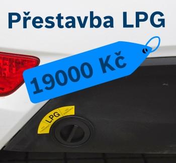 Akce na přestavbu LPG