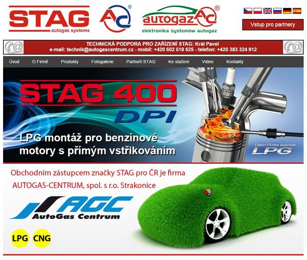 Stránky AC STAG