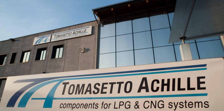 Tomasetto hlavní budova LPG a CNG