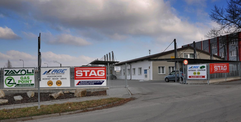 Autogascentrum budova