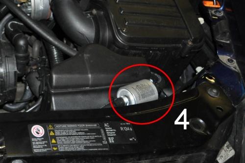Filtr plynné fáze LPG