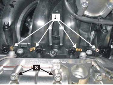Otvory pro vstřikovače LPG / CNG
